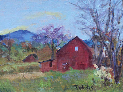 Mt. Monadnock Painting - Colors Of Spring by Alicia Drakiotes