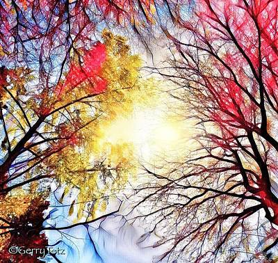 Digital Art - Colors Of Spring by Gerry Tetz