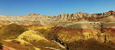 Photograph - Colors Of The Badlands by Bruce Bley