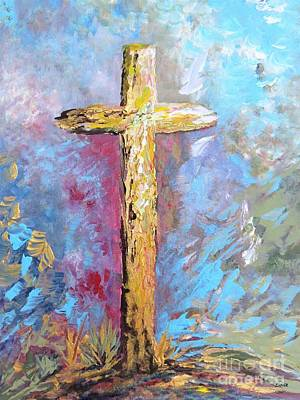 Painting - Colors Of The Cross by Eloise Schneider