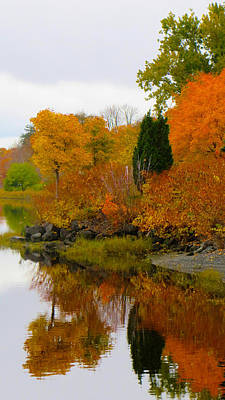 New Glasgow Photograph - Colors Of The Fall by Kathleen Sartoris