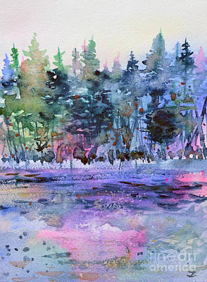 Painting - Colors Of The Forest by Zaira Dzhaubaeva