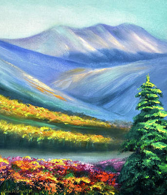 Painting - Colors Of The Mountains 2 by Gina De Gorna