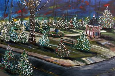 Jmwportfolio Painting - Colors Of The Night by John Williams