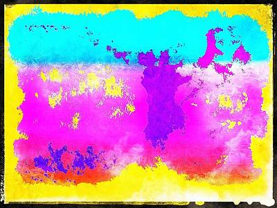Digital Art - Colors Of The Rainbow by Anne Sands