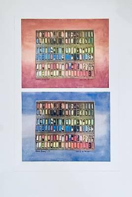 Mixed Media - Colors Of The Rainbow by Barbara Anna Knauf