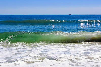 Surf Lifestyle Photograph - Colors Of The Sea by Colleen Kammerer