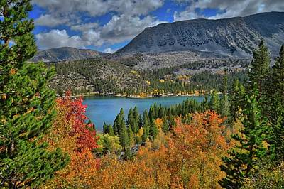 Photograph - Colors Of The Season At Rock Creek Lake by Lynn Bauer