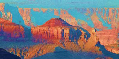 Photograph - Colors Of The Southwest - Grand Canyon by Heidi Smith