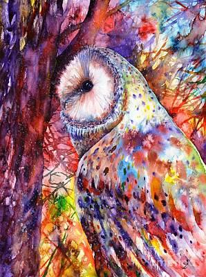 Painting - Colors Of The Wild by Zaira Dzhaubaeva