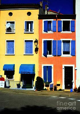 Photograph - Colors Of Tournon France by Mel Steinhauer