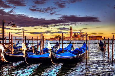 Photograph - Colors Of Venice by Maria Coulson