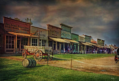Colors Of Wild West Art Print by Hanny Heim