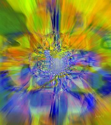 Colors On Blur Art Print