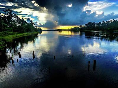 Photograph - Colors On The Bon Secour River by Michael Thomas
