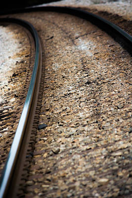 Photograph - Colors On The Tracks by Shelby  Young