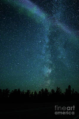 Photograph - Colors Over The Milky Way by Lori Dobbs