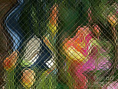 Photograph - Colors Under Glass by Kathie Chicoine