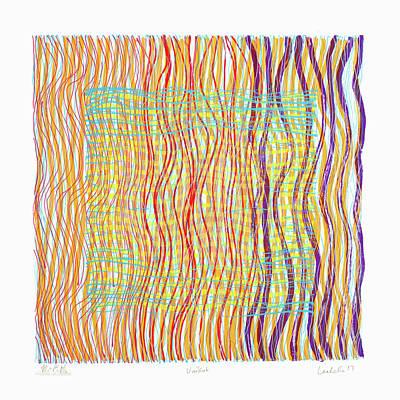 Painting - Colorweaves 34 by Hermann Lederle