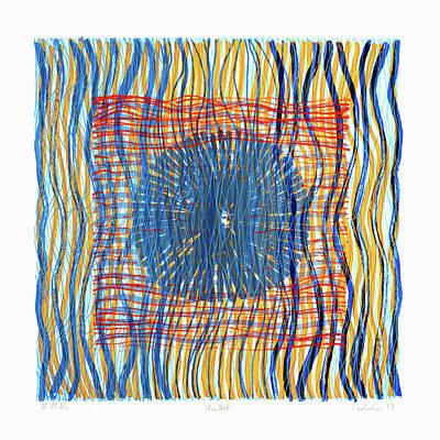Painting - Colorweaves 48 by Hermann Lederle