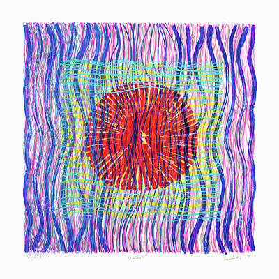 Painting - Colorweaves 51 by Hermann Lederle