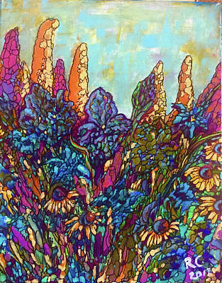 Painting - Colorwild by Rae Chichilnitsky