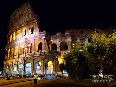 Photograph - Coloseo  by Angela Rath