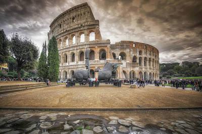 Colosseo Art Print by Alessandro Ciabini