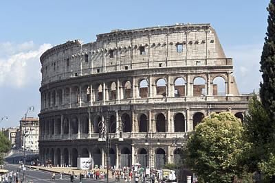 Colosseo I Art Print by Fabrizio Ruggeri