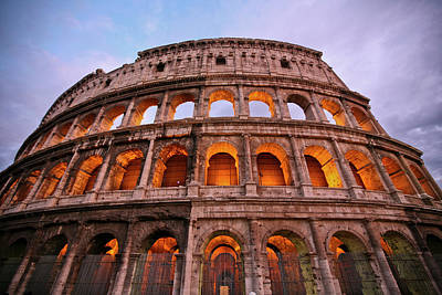 Ancient Rome Photograph - Colosseum - Coliseu by Ruy Barbosa Pinto
