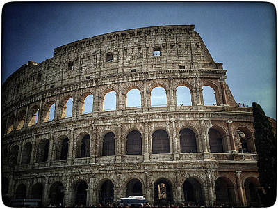 Colliseum Photograph - Colosseum 2 by Lisa OConnor