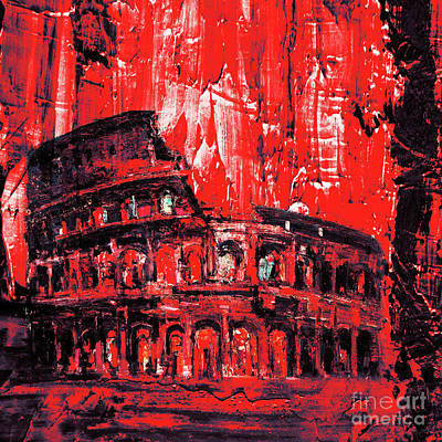Colosseum Art  Original