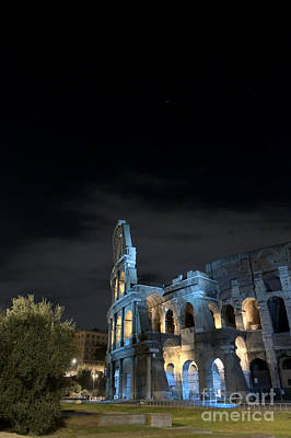 Photograph - Colosseum By Night I by Fabrizio Ruggeri