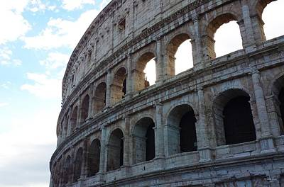 Photograph - Colosseum Curve by Judith Rhue