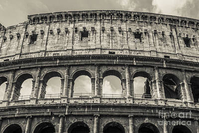 Rome Ancient Photograph - Colosseum by Diane Diederich