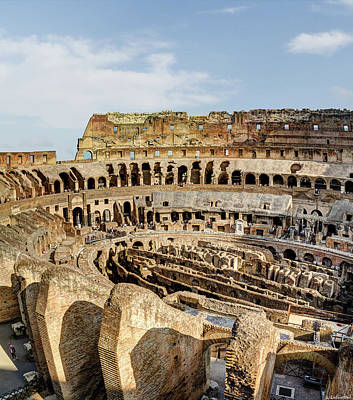 Photograph - Colosseum From Above by Weston Westmoreland