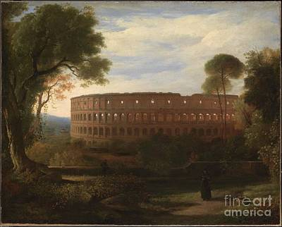 Sir Charles Painting - Colosseum From The Esquiline  by MotionAge Designs