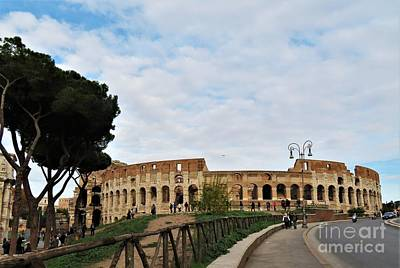 Photograph - Colosseum I by Laurie Morgan