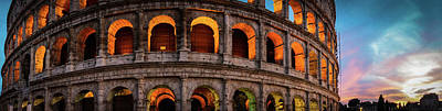 Photograph - Colosseum In Rome, Italy by Alexis Lee Scott