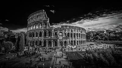 Art Print featuring the photograph Colosseum by James Billings