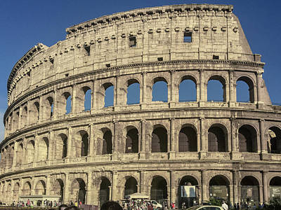 Photograph - Colosseum by Joseph Yarbrough