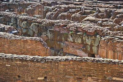Photograph - Colosseum Masonry by JAMART Photography