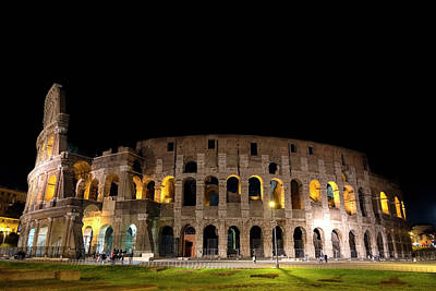 Photograph - Colosseum by Nikos Stavrakas