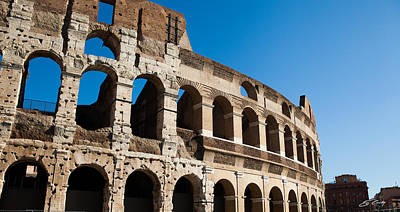Photograph - Colosseum - Old And New by Ed Cilley