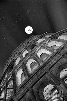 Photograph - Colosseum Panorama by Stefano Senise