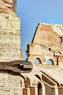 Photograph - Colosseum Reinforcement 01 by Weston Westmoreland