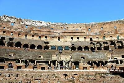 Photograph - Colosseum Roma by Janice Aponte