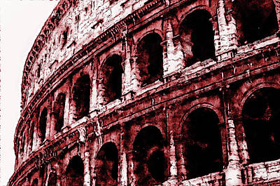 Painting - Colosseum, Rome - 02 by Andrea Mazzocchetti