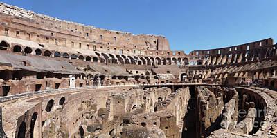 Photograph - Colosseum Rome 1 by Rudi Prott