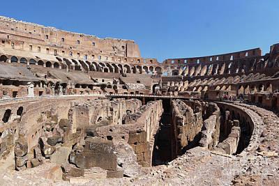 Photograph - Colosseum Rome 2 by Rudi Prott